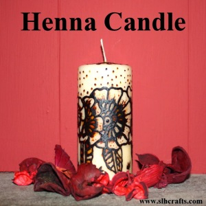 Henna Candle Tutorial
