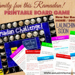 Ramadan Challenger Printable board game