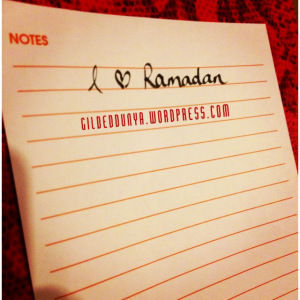 Ramadan to do list