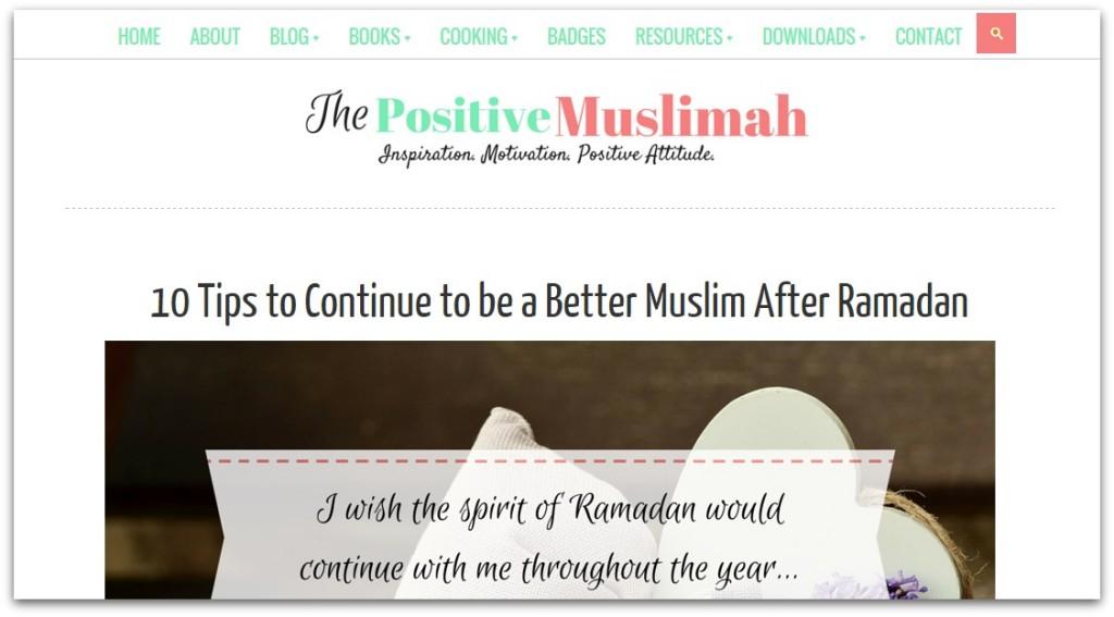 Positive Muslimah