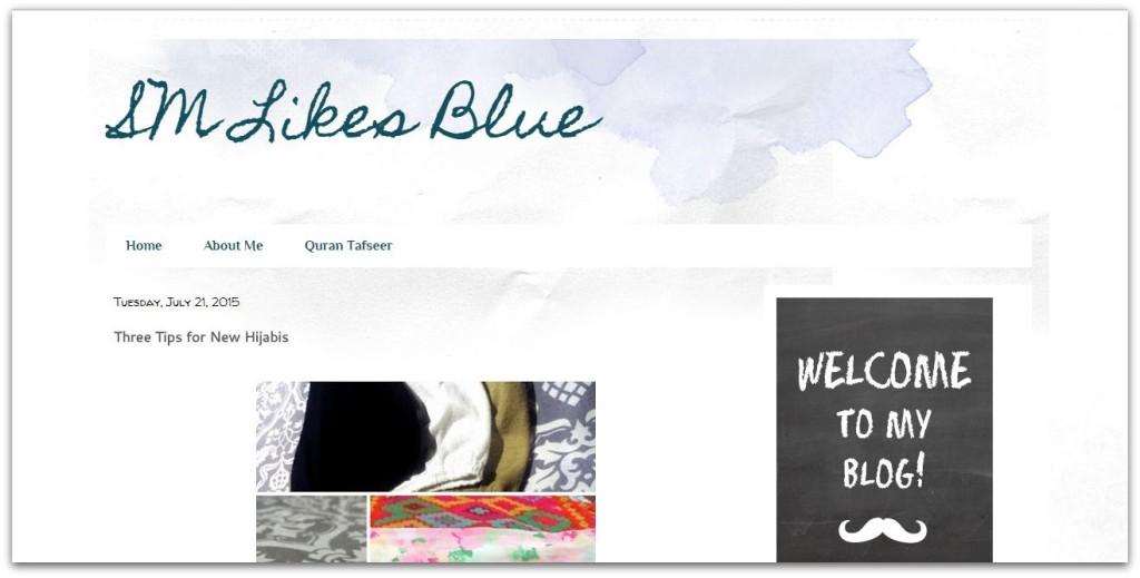 SM likes blue