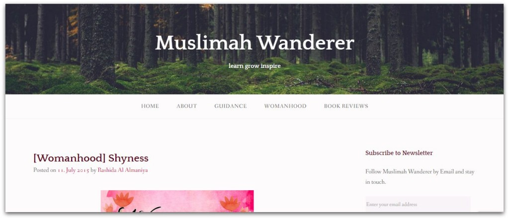 Muslimah Wanderer