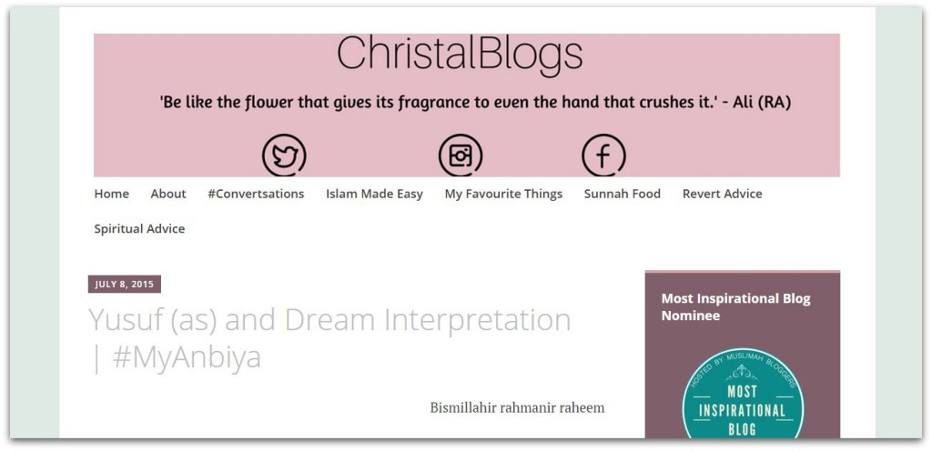 Christal Blogs