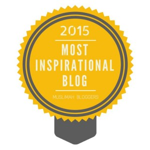 Muslimah Bloggers Most Inspirational Blog Award