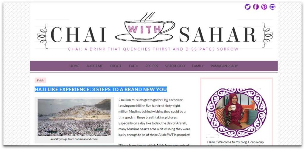 chai with sahar