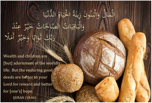 wealth quran