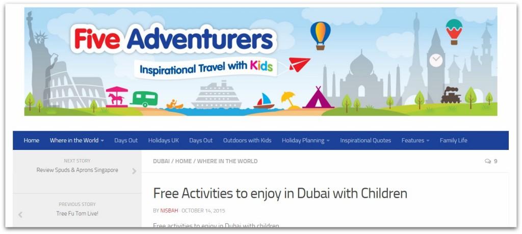 Five Adventurers