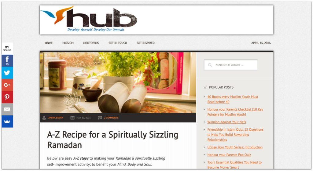 Youthly hub - spiritually sizzling Ramadan