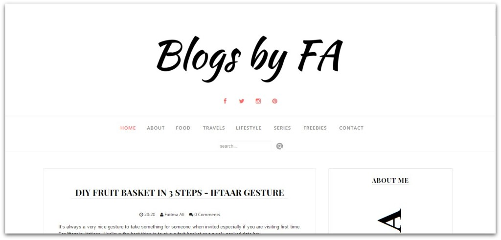 blogs by fa