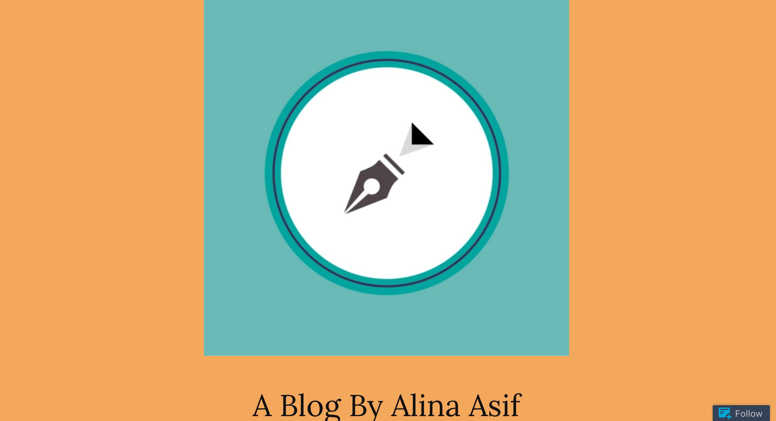 Blog by Alina Asif