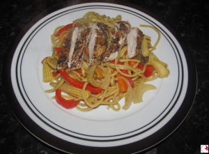 Grilled Chicken Noodles