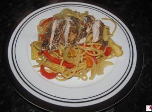 Grilled Chicken Noodles
