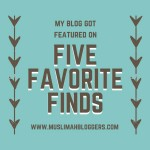 Featured Five Favourite Finds