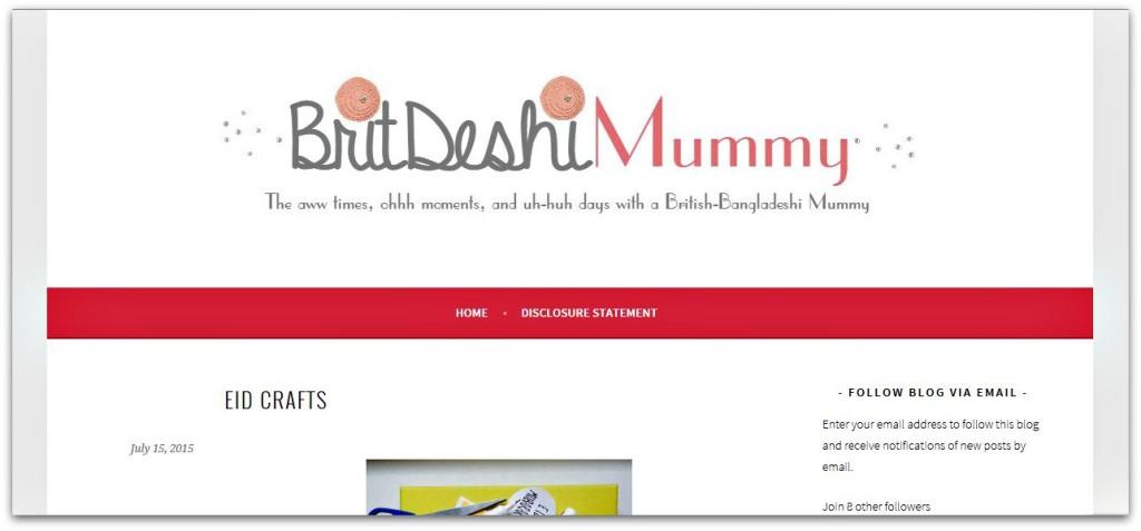Brit Deshi Mummy