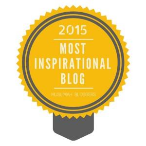 Muslimah Bloggers Most Inspirational Blog Award