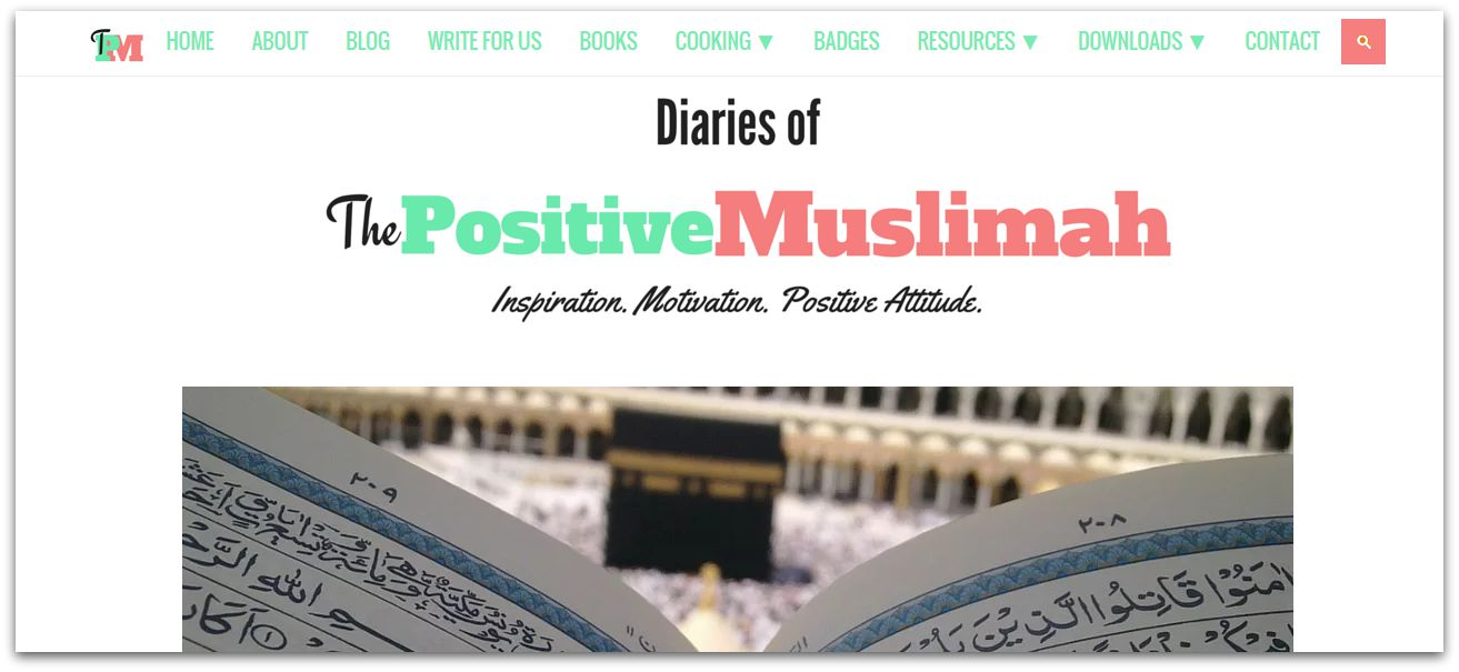 the positive muslimah