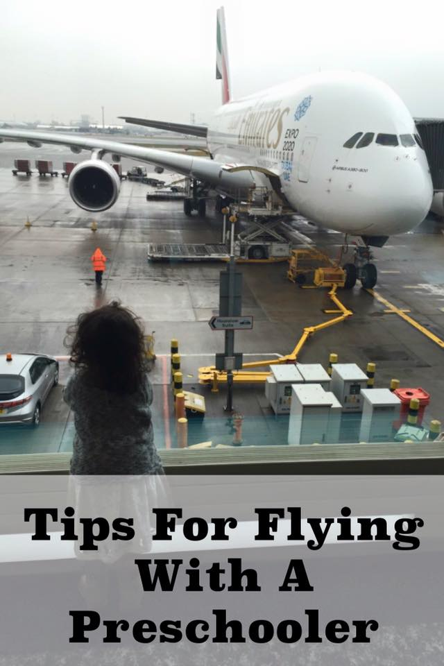 tips for flying with a preschooler