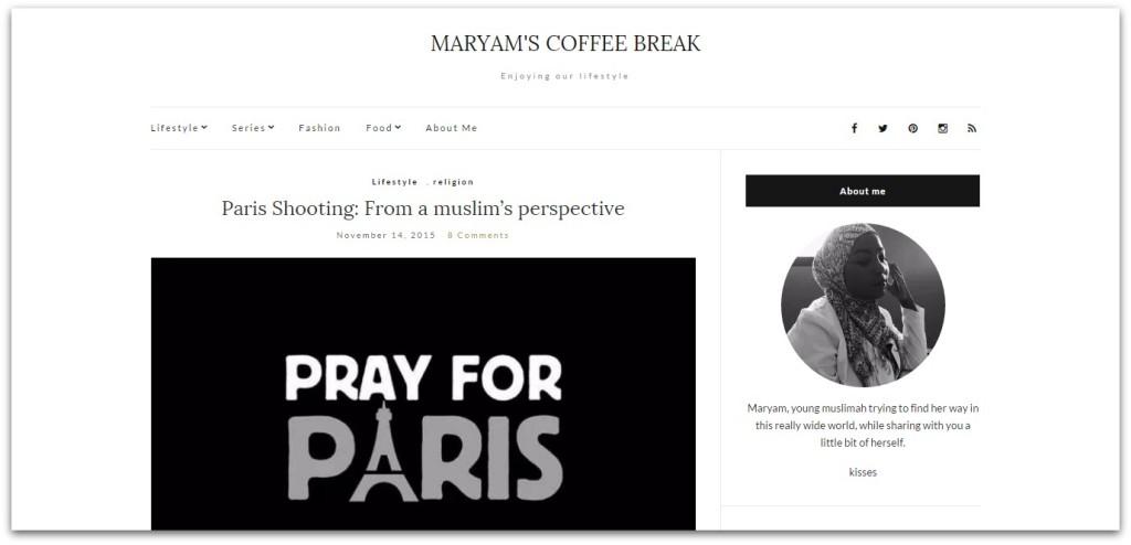 maryams coffee break