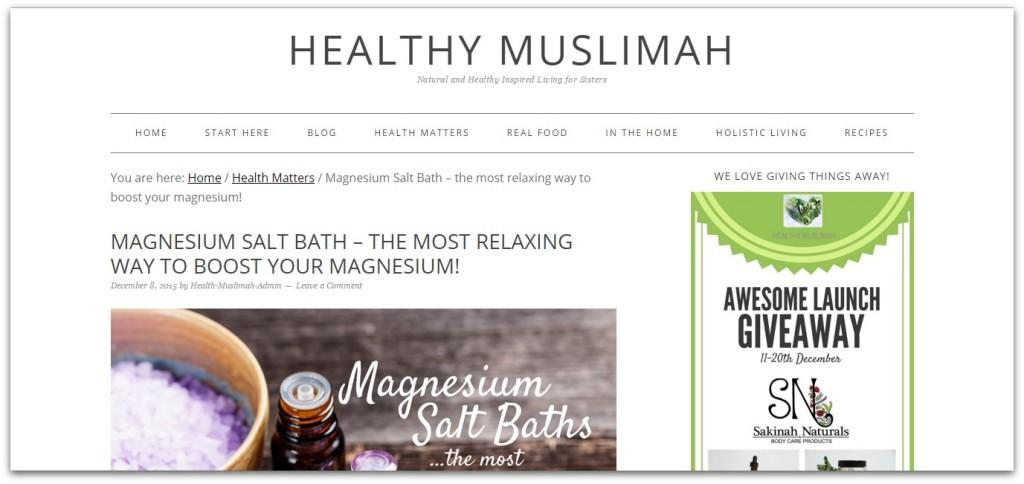healthy muslimah
