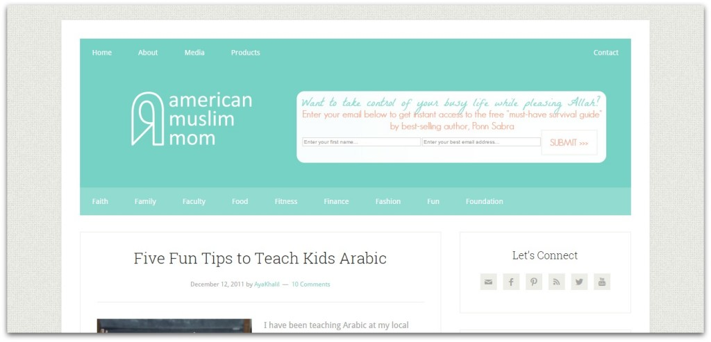 American Muslim mom