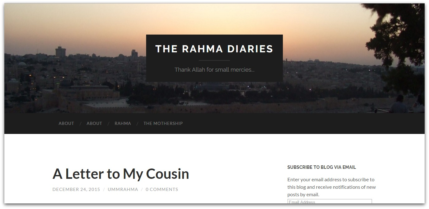 the rahma diaries