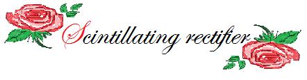 Scintillating rectifier