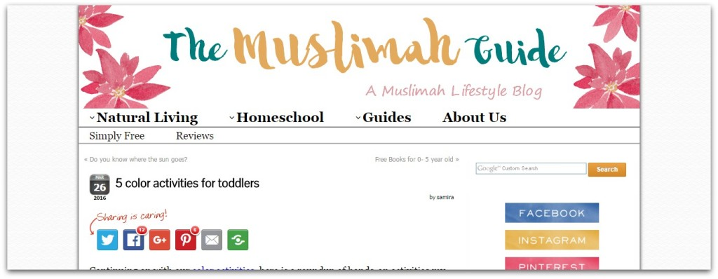 the muslimah guide