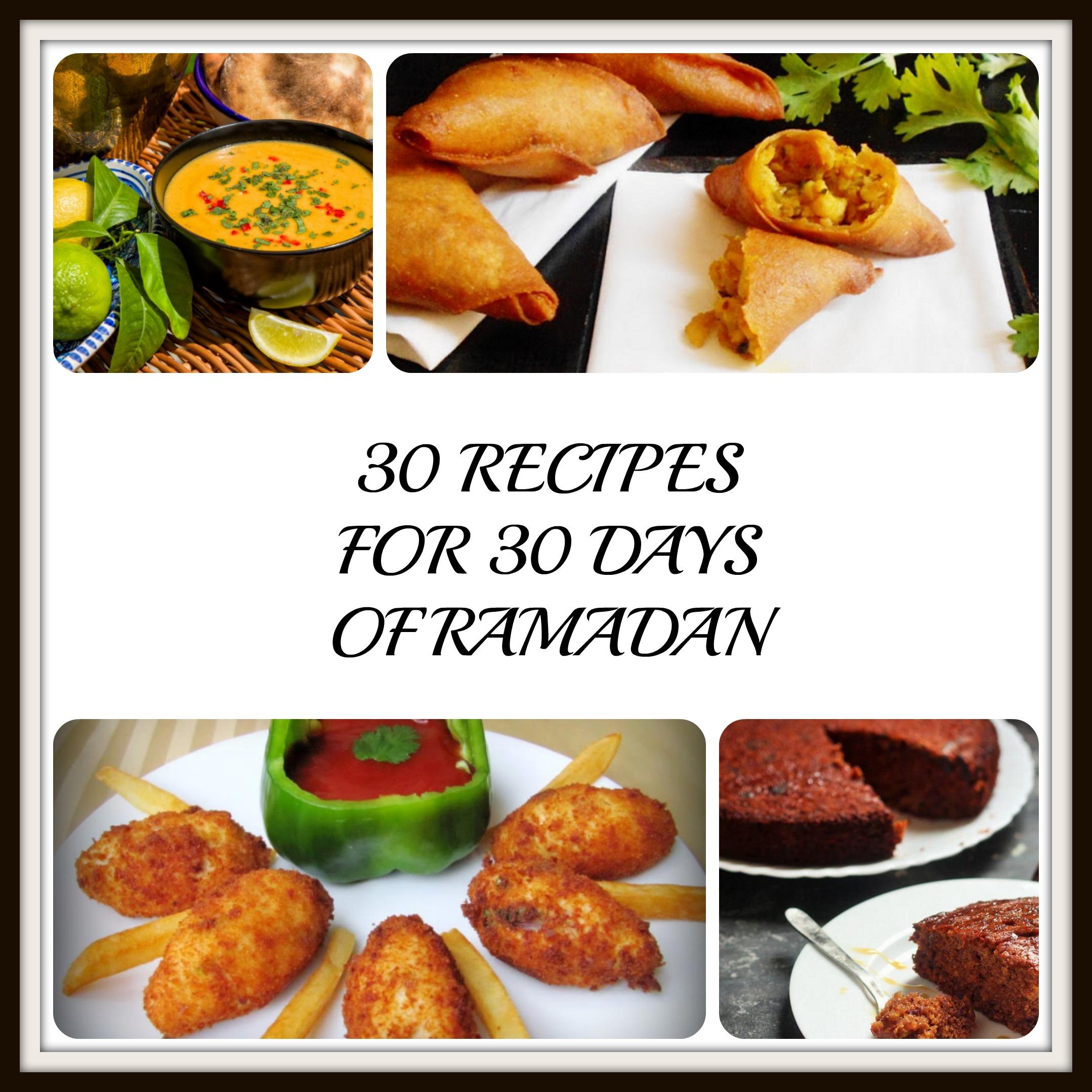 30 recipes for ramadan