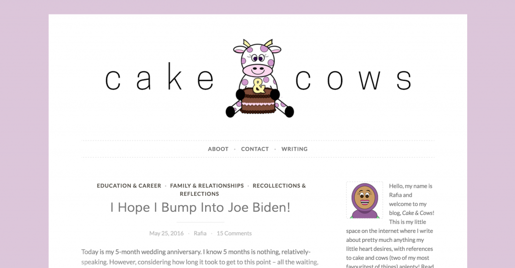 Cakes and Cows