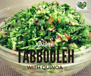 Quinoa Tabbooleh