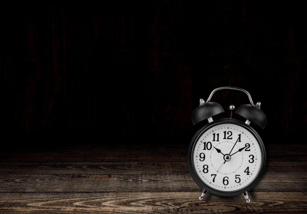 Clock, alarm, hour.