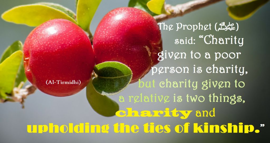 charity to relative