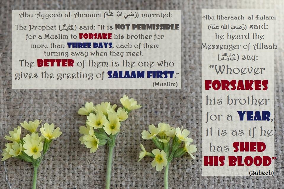 say salam