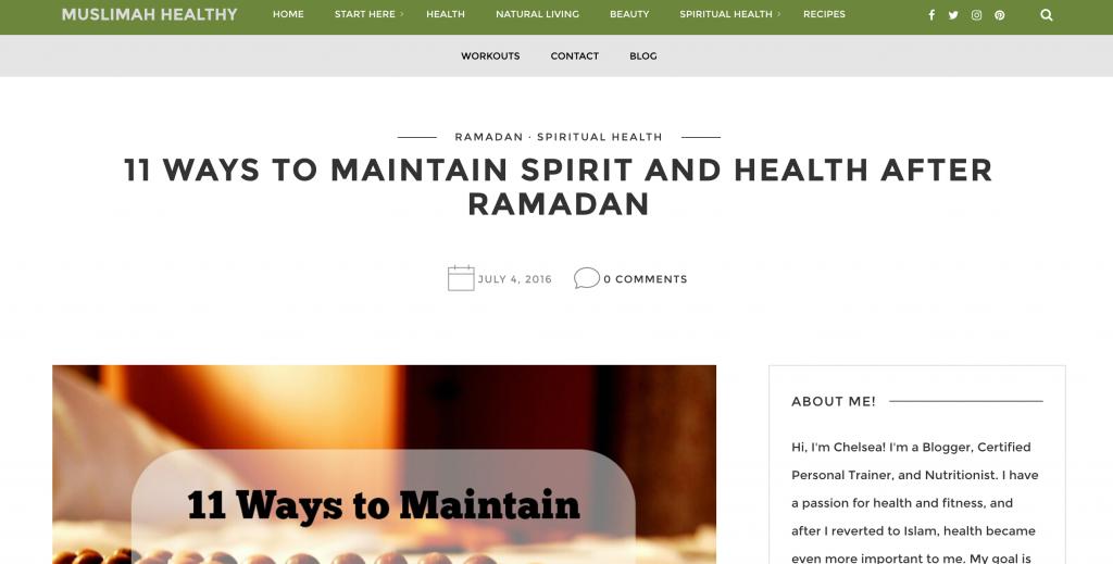 Muslimah Healthy