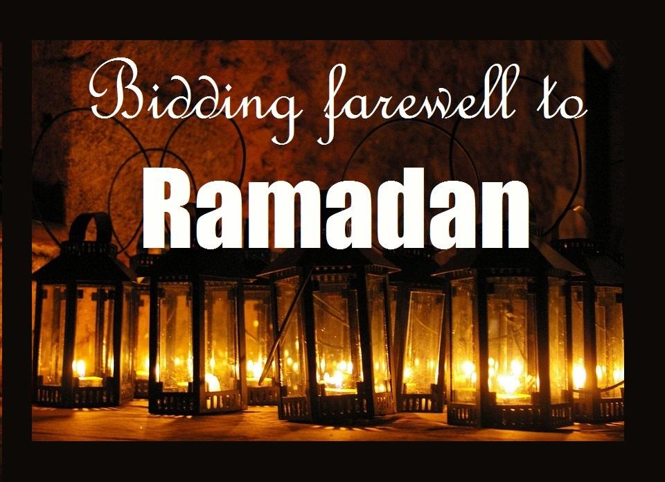farewell to ramadan