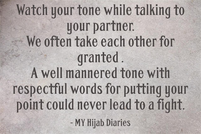 High Expectations from your Spouse